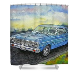1967 Ford Falcon Futura Shower Curtain