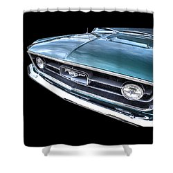 1967 Mustang Grille Shower Curtain