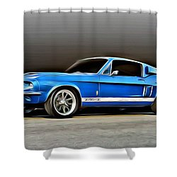 1967 Shelby Mustang Gt500 Shower Curtain