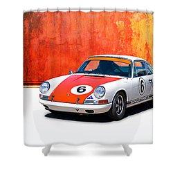 1968 Porsche 911 Shower Curtain