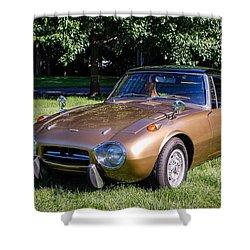 1968 Toyota Sports 800 Shower Curtain