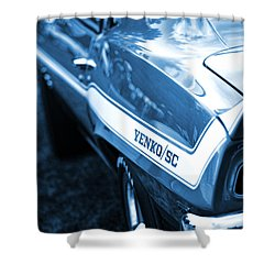 1969 Chevrolet Camaro Yenko Sc 427 Shower Curtain by Gordon Dean II