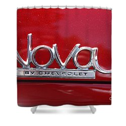 1970 Chevy Nova Logo Shower Curtain