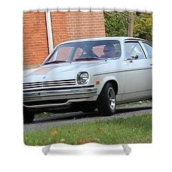 1971 Chevrolet Vega Shower Curtain