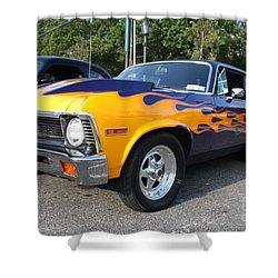 1972 Chevy Nova Shower Curtain