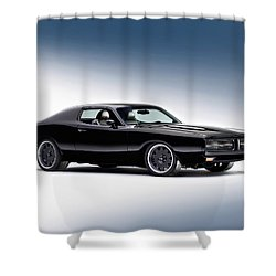 1972 Dodge Charger Shower Curtain by Gianfranco Weiss