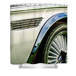1973 Bmw 3.0 Csl Side Emblem - Wheel Emblem -1294c Shower Curtain