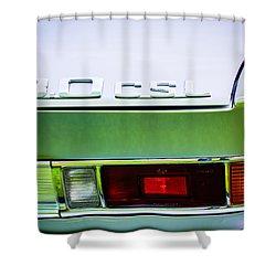 1973 Bmw 3.0 Csl Side Taillight Emblem -1298c Shower Curtain