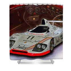 1981 Porsche 936/81 Spyder Shower Curtain