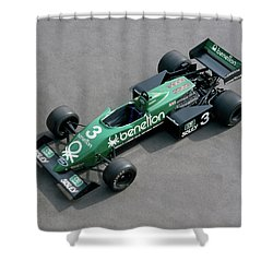 1982 Tyrrell-cosworth 011, 3.0 Litre Shower Curtain