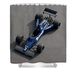 1985 Tyrrell-cosworth 012 3.0 Litre Shower Curtain