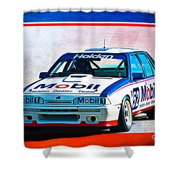 1987 Vl Commodore Group A Shower Curtain by Stuart Row