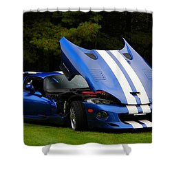 1997 Viper Hennessey Venom 650r 4 Shower Curtain by Davandra Cribbie