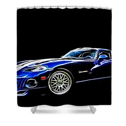 1997 Viper Hennessey Venom 650r 5 Shower Curtain by Davandra Cribbie