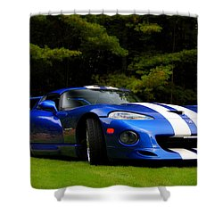 1997 Viper Hennessey Venom 650r Shower Curtain by Davandra Cribbie