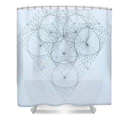 Diamond Quanta Shower Curtain
