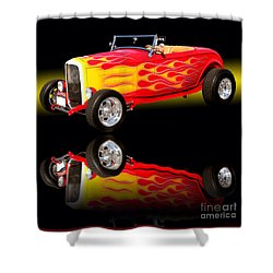 1932 Ford V8 Hotrod Shower Curtain