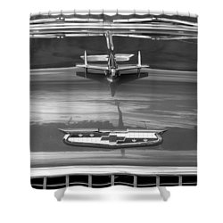 1955 Chevrolet Bel Aire Shower Curtain
