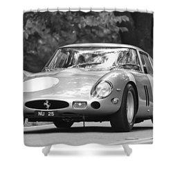 1963 Ferrari 250 Gto Scaglietti Berlinetta Shower Curtain