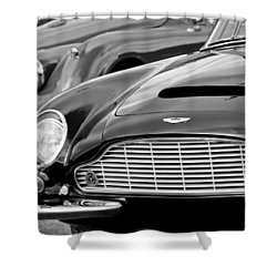 1965 Aston Martin Db6 Short Chassis Volante Shower Curtain