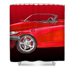 2002 Plymouth Prowler Shower Curtain by Jack Pumphrey