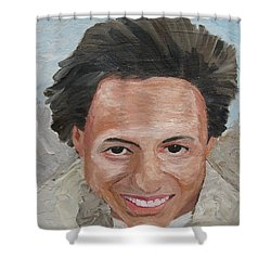A Time To Be Young Shower Curtain