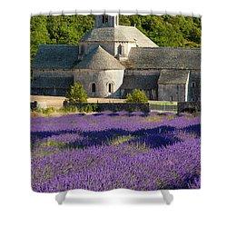 Abbaye De Senanque Shower Curtain by Brian Jannsen