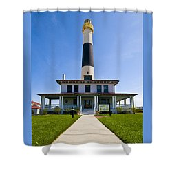 Absecon Lighthouse Shower Curtain