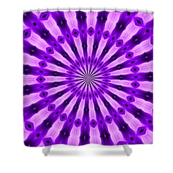Abstract 122 Shower Curtain by J D Owen