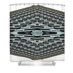 Abstract Buildings 2 Shower Curtain by J D Owen