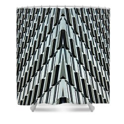 Abstract Buildings 4 Shower Curtain by J D Owen