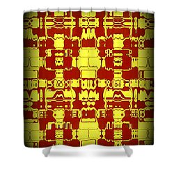 Abstract Series 4 Shower Curtain by J D Owen