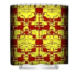 Abstract Series 5 Shower Curtain by J D Owen