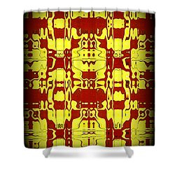 Abstract Series 6 Shower Curtain by J D Owen