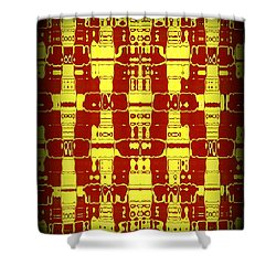 Abstract Series 7 Shower Curtain by J D Owen