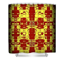 Abstract Series 8 Shower Curtain by J D Owen