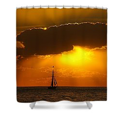 After The Storm Shower Curtain by Randy Pollard