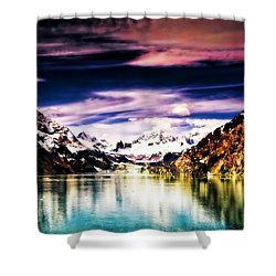 Alaska Shower Curtain by Bill Howard