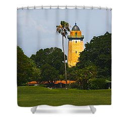 Alhambra Water Tower Shower Curtain