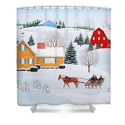 Almost Home Shower Curtain by Wilfrido Limvalencia