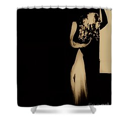 Shower Curtain featuring the photograph Alone  by Jessica Shelton