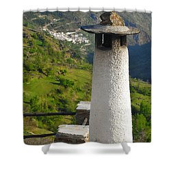 Alpujarras In Granada Shower Curtain by Guido Montanes Castillo