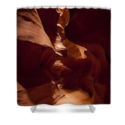 Shower Curtain featuring the photograph Antelope Slot Canyon by Andrew Soundarajan