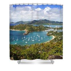 Antigua Shower Curtain by Brian Jannsen