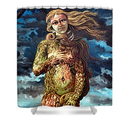 Aphrodite-venus Shower Curtain by Genio GgXpress
