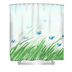 April Shower Shower Curtain