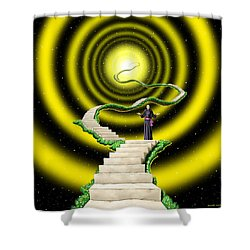 Ascension Shower Curtain by Scott Ross