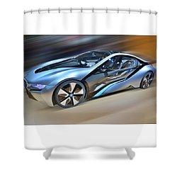 B M W  Edrive I8  Concept  2014 Shower Curtain