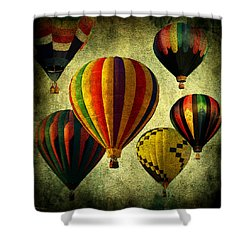 Balloons Shower Curtain by Mark Ashkenazi
