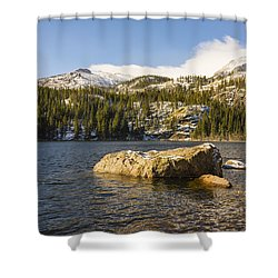 Bear Lake - Rocky Mountain National Park Colorado Shower Curtain by Brian Harig